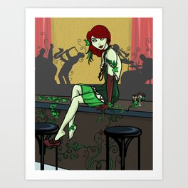 Poison Ivy and the Speakeasy Art Print