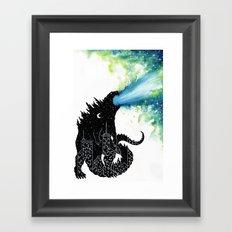 Urban Monster Framed Art Print
