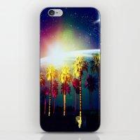 coachella iPhone & iPod Skins featuring Coachella Palms by Jason Chase