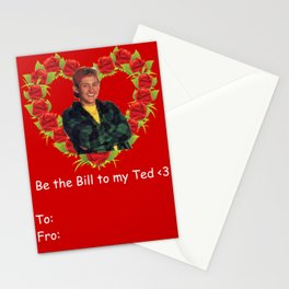 Bill to Ted Stationery Cards