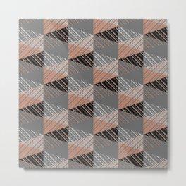 Geometric pattern.5 Metal Print