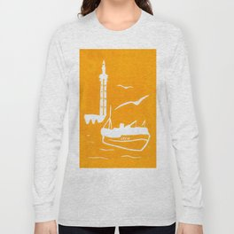 Home in Yellow Long Sleeve T-shirt