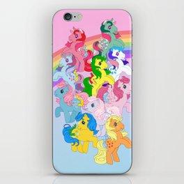 retro g1 my little pony iPhone Skin