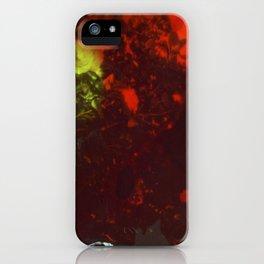 Painted Camellias iPhone Case