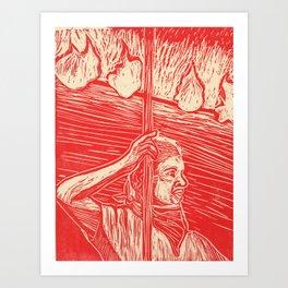 Flambeau Art Print