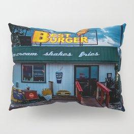 Best Burger Pillow Sham