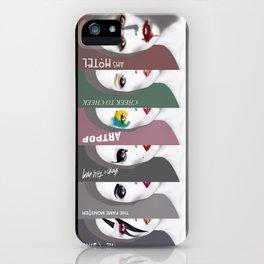 LadyGaga Make up iPhone Case