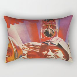 Labour communist propaganda in soviet union cccp sssr Rectangular Pillow