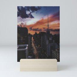 São Paulo Mini Art Print