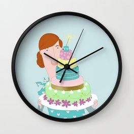 My happycake Wall Clock