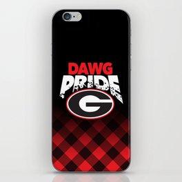 Georgia Dawg Pride iPhone Skin