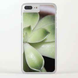 plant from above Clear iPhone Case