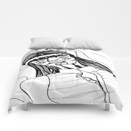Momentary partition Comforters