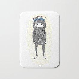 The Birthday Monster Bath Mat