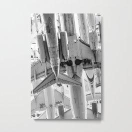 Aluminium Sky Metal Print