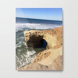 Sunset cliffs. Metal Print