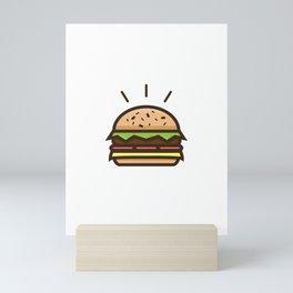 Cheeseburger Mini Art Print