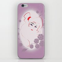 greek iPhone & iPod Skins featuring  Greek Goddess  by AmadeuxArt