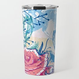 Blossoming rose Travel Mug