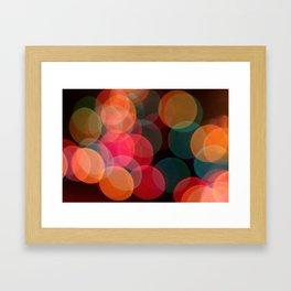 fun night Framed Art Print