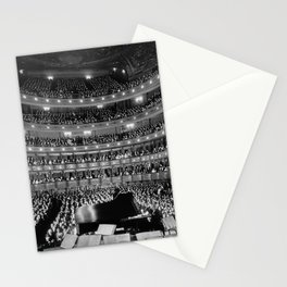 Old Metropolitan Opera House Concert - NYC 1937 Stationery Cards