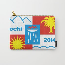 Sochi 2014 flag - Authentic version Carry-All Pouch