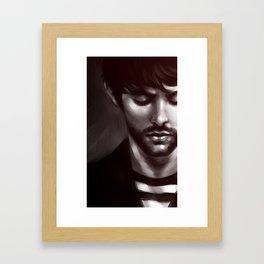 Scruff Framed Art Print