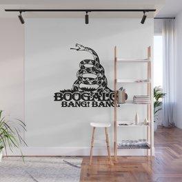 Boogaloo Bang! Bang! - Gadsden Flag Wall Mural