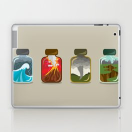 Disaster In A Jar Laptop & iPad Skin