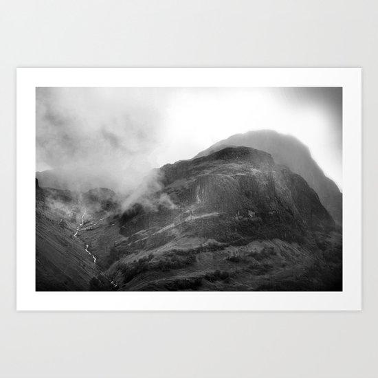 Glencoe, Highlands, Scotland. Art Print