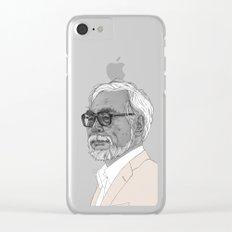 Hayao Miyazaki Clear iPhone Case