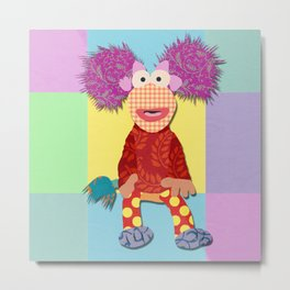 red fraggle Metal Print