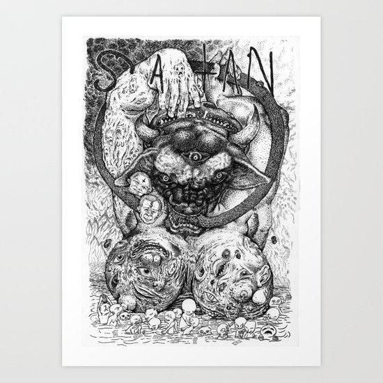The Prince of Lies Art Print