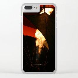 Hot Air Baloon Clear iPhone Case