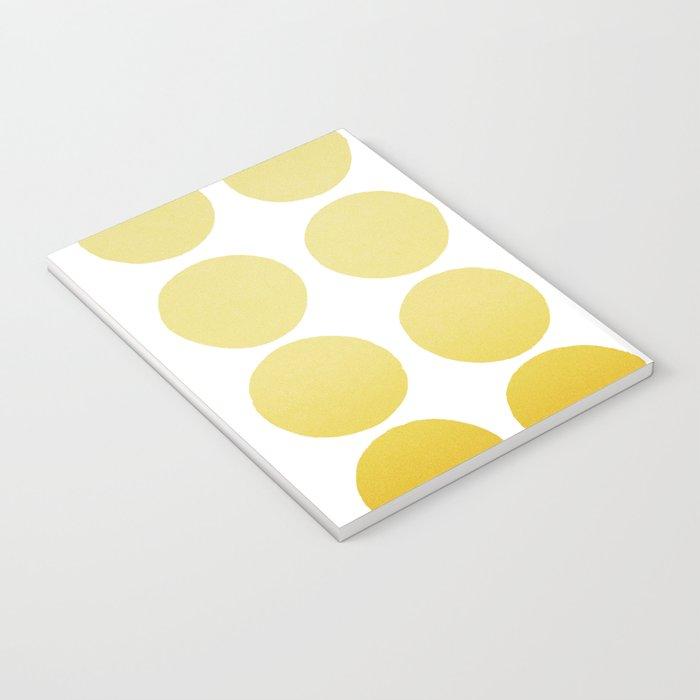 Warm dots Notebook