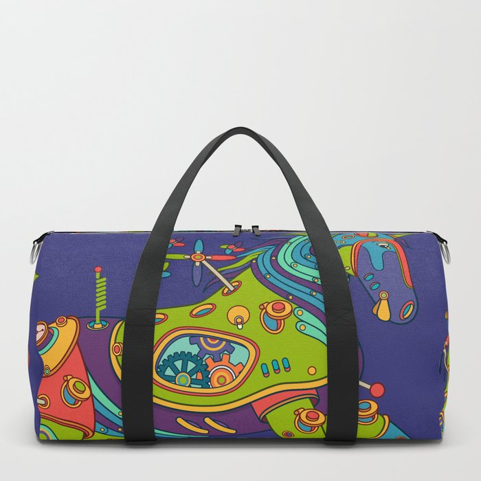 Horse, cool wall art for kids and adults alike Duffle Bag