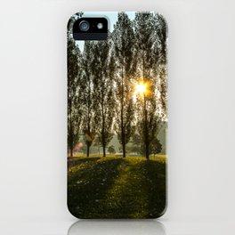 Penn State Sunrise iPhone Case