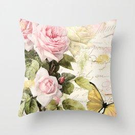 Florabella II Throw Pillow