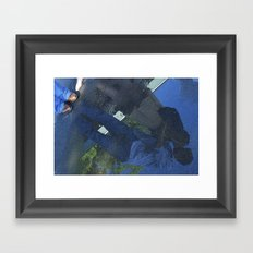 Reflection in the Puddle  Framed Art Print