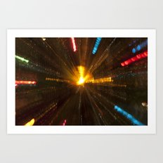 Explosion of Lights Art Print