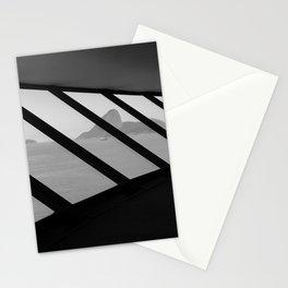 MAC Interior View   Architect Oscar Niemeyer   Niterói-Brazil Stationery Cards