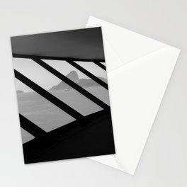 MAC Interior View | Architect Oscar Niemeyer | Niterói-Brazil Stationery Cards