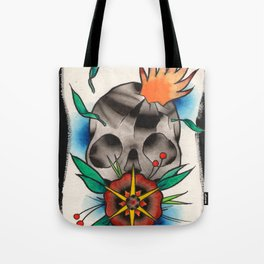 Skull of Unnamed Fear Tote Bag