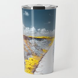 Cliff Panorama Photo Print Travel Mug