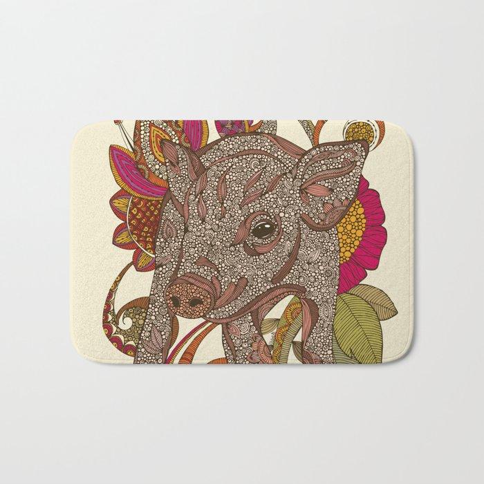Paisley Piggy Bath Mat