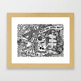 Boxing inspiration Framed Art Print