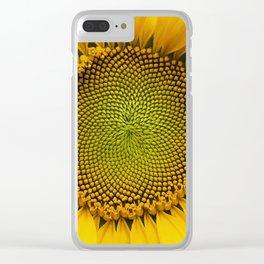 Sunshine sunflower Clear iPhone Case