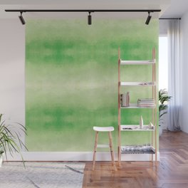 Mozaic design in soft green colors Wall Mural