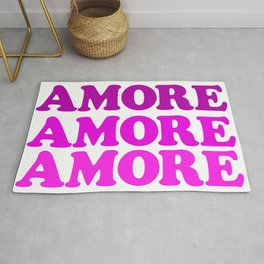 Amore Amor Liebe Amour Rug