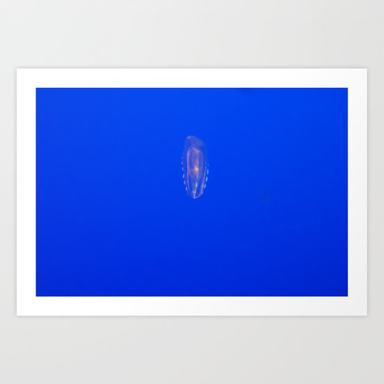 Bioluminous Art Print